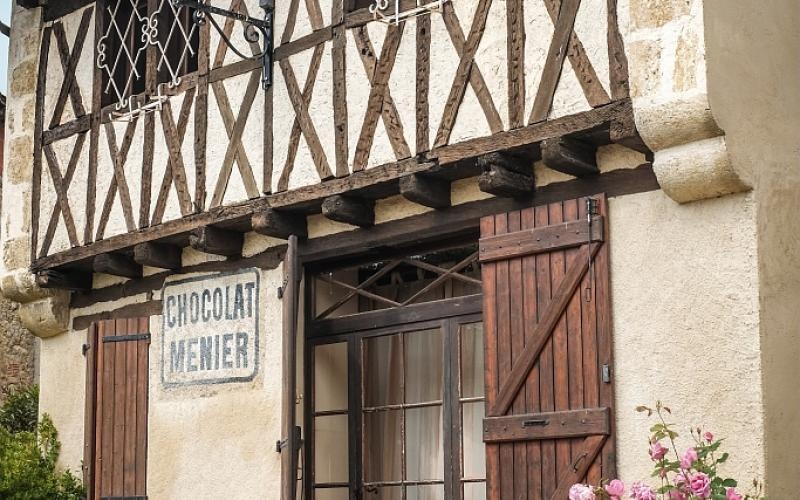 CHOCOLAT MENIER-GITES DE MONBERT