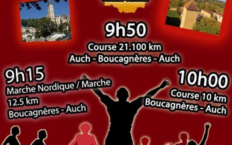 LE SOUFFLE DU GERS : SEMI-MARATHON, 10KM ET MARCHES