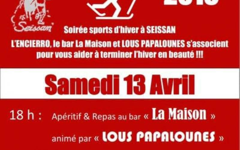SOIREE SPORTS D'HIVER
