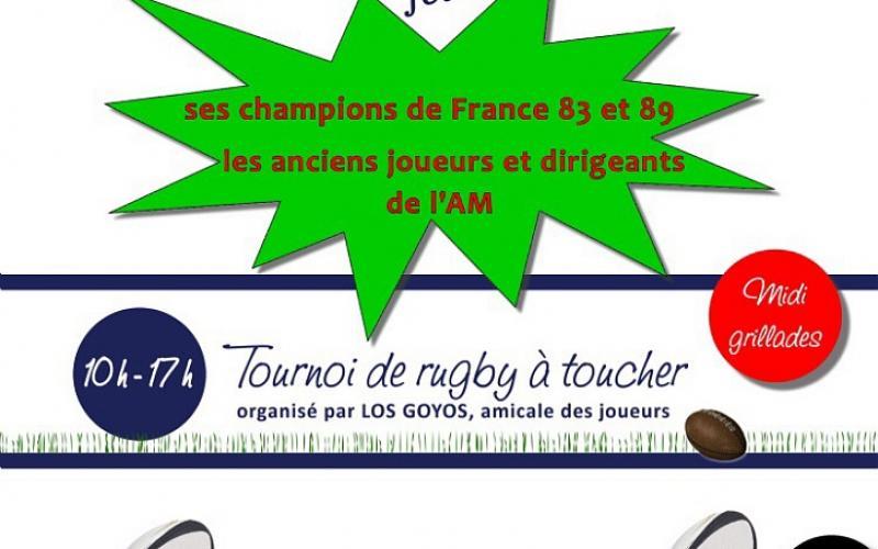 L'AVENIR MASSYLVAIN FÊTE SES CHAMPIONS DE FRANCE 83 ET 89