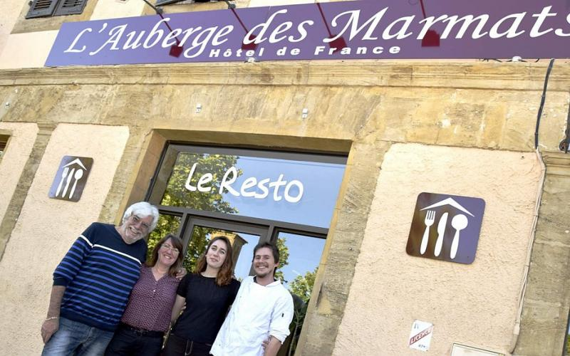 L'AUBERGE DES MARMATS