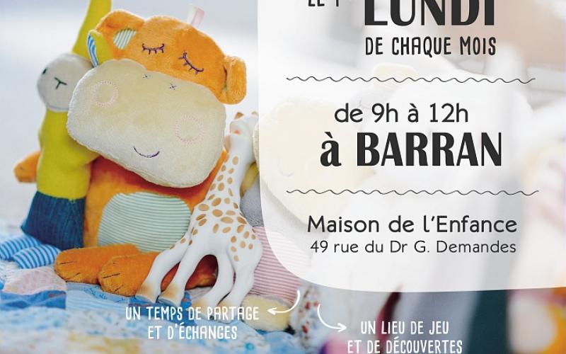 LIEU D'ACCUEIL ENFANTS PARENTS - BARRAN