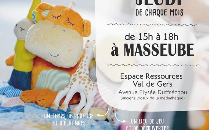 LIEU D'ACCUEIL ENFANTS PARENTS - MASSEUBE
